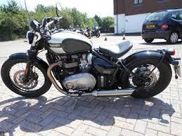 triumph bonneville bobber bikes for sale mcn