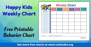 Printable Behavior Charts For Parents Free Printable Behavior Charts For Home School Acn Latitudes