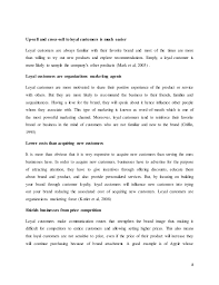 customer loyalty tis essay  8