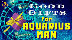 good gifts for aquarius man