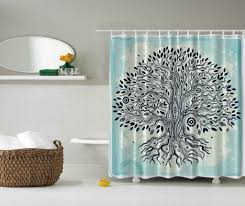 picture of shower curtains collection on tree of life shower curtain
