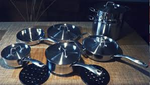 specially crafted keeping glass top stoves in mind this cookware set is not only extremely sy and reliable in terms of its structure but also largely