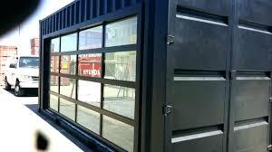 clear garage doors glass door wonderful modern northwest
