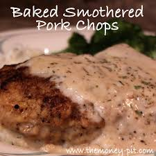 Southern Style Smothered Pork Chops Baked  Pork Worth It And Country Style Smothered Pork Chops