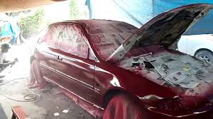 Anzahl Urethane Paint Color Chart Red Mica Painting Job Honda Esi Youtube