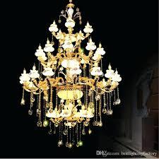 indoor hanging lights lamp top crystal chandelier gold color chandelier big lights chandelier luxury hotel lamp indoor hanging lighting big pendant lamps