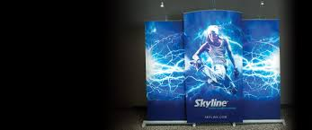 Portable Stands For Display Trade Show Displays Events Exhibits Booths Skyline 80