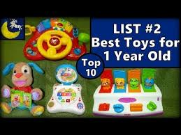 YouTube Premium List #2: Top 10 Best Toys for 1 Year Old! Fisher Price, Kidz Delight