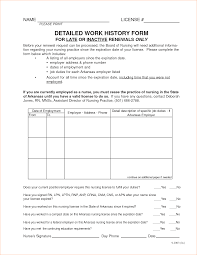 6+ Free Work History Report | Outline Templates