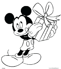 Mickey Mouse Coloring Pages Free Printable Free Mickey Mouse