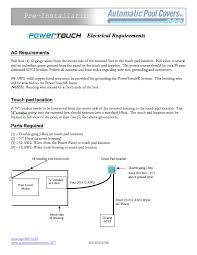 automatic pool cover installation pool warehouse click for powertouch electrical requirements