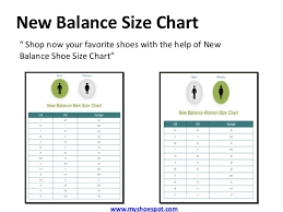 New Balance Size Chart Inches China Shoe Conversion Online Charts Collection