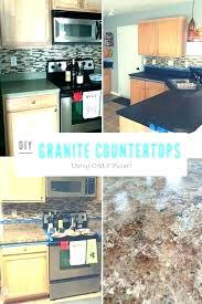 refinish laminate countertops to look like granite