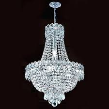 chrome crystal chandelier 7 light round chrome crystal flush mount chandelier pendant light