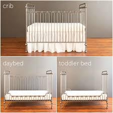 bratt decor joy baby crib pewter