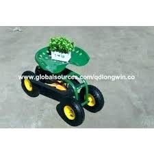 garden cart with seat sit on garden cart gardening cart china garden stool tractor seat rolling garden cart with seat