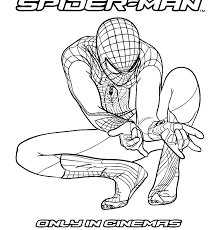 Printable Spiderman Coloring Pages Coloring Pages Printable Coloring