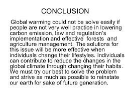 conclusion to essay on global warming conclusion very short introductions