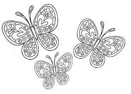 Disegni Da Colorare E Stampare Delle Farfalle Fredrotgans