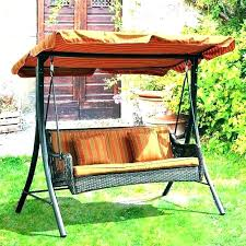 patio swings with canopy porch swing wooden hanging beautiful or replacement