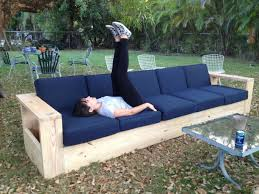 diy outdoor furniture couch. Fine Diy Like This Tutorial On How To Make A Couch Frame Thinking Iu0027ll Tweak The  Seat Measurement For Twin Mattress Base Really Liking Built In Armrest  Throughout Diy Outdoor Furniture Couch Pinterest