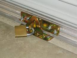 design patio door locks