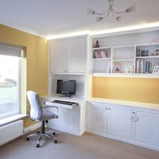 fitted home office furniture built in
