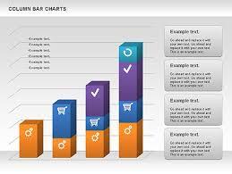 Column Bar Chart Presentation Template For Google Slides