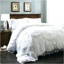 black fluffy comforter all