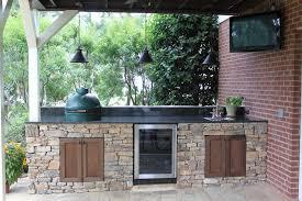 big green egg outdoor kitchen