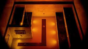 chromatherapy steam shower lights