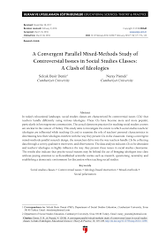 Convergent Design Mixed Methods Pdf A Convergent Parallel Mixed Methods Study Of