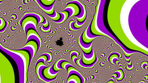 Optical illusion wallpaper, fractal ...
