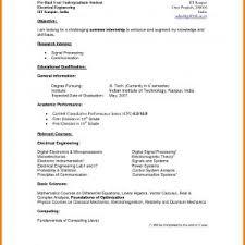 Resume Undergraduate Reference Undergraduate Student Resume Template ...