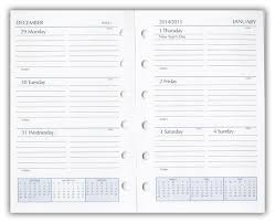 2019 Planner Refills Weekly Planner Refill Inserts