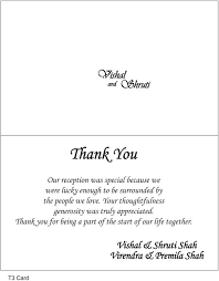 Thank You Note Examples Thank You Cards Wedding Wording Google Search Awesome Wedding Gift