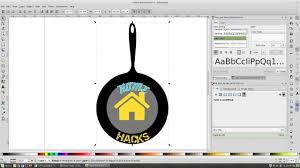 Inkscape Graphic Design Software Logo Design On Linux Using Inkscape