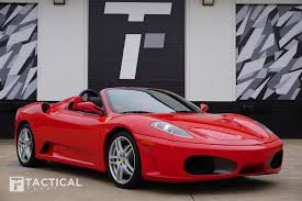 It is a convertible version of the 430 scuderia. Used 2005 Ferrari F430 Spider For Sale 117 900 Tactical Fleet Stock Tf1845
