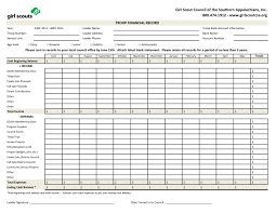 Personal Management Merit Badge Budget Spreadsheet
