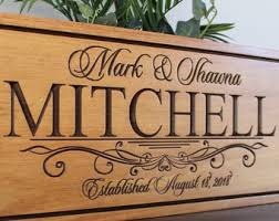 personalized wedding gift for the couple bride and groom gift custom wedding gift sign end wedding memento save the date prop sign wood