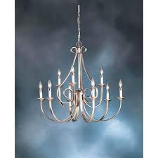 chandeliers kichler dover chandelier kichler dover chandelier ii 9 light 2 tier chandelier brushed nickel