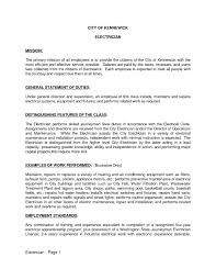 Electrician Cover Letter Resume Cover Letter Sles Electrician File