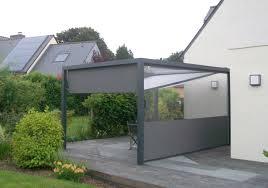 Bache Tendue Pour Terrasse 15 Pergola Bois Et Toile Retractable