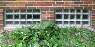 professional installation for all garage and basement glass block window
