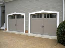Imposing Decoration Carriage Style Garage Doors Fanciful - Exterior garage door