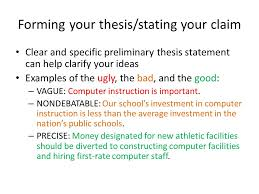 developing and argumentative or persuasive essay ppt  5 forming