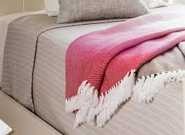 washable wool pinstripe blanket