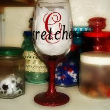 three weeks ago i came across this you that just got to me it was start to finish personalized wine glasses by crystal shipley