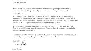Cover Letter With Salary Requirements Example Expected Salary In