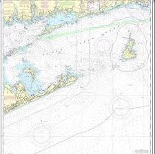 Training Chart Block Island Sound Tri Fold
